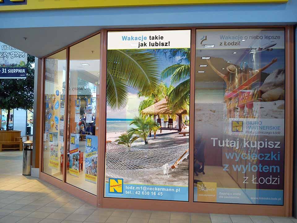 projekt i wykonanie witryny sklepowej reklama